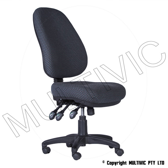 como 337 extra high back with no arms – executive office chair