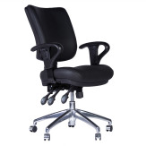 128 HIGH BACK BACK EXECUTIVE WITH ADJUSTABLE 'D' ARMS-DIAGONAL